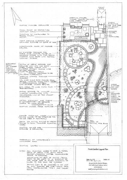 Jacquie Gordon Garden Design Gallery Garden Proposal Page 0